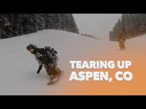 Jerk Man Tearing Up Aspen, CO