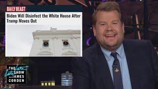 Biden Is Planning a White House Deep Clean