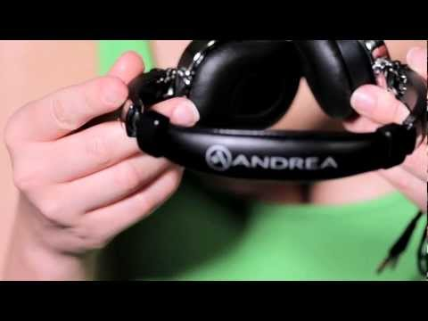Andrea Electronics SuperBeam Headphone Features