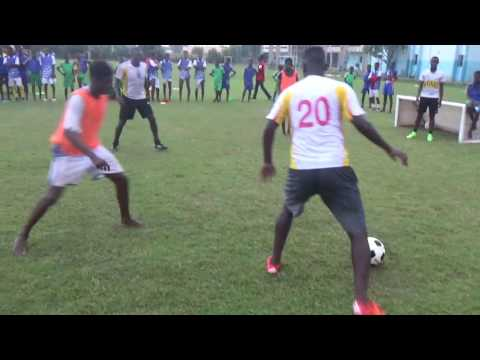 des hôtes de marques champions à l'académie JMG Mali : Dindane, Zézéto, Marco Né, Diadié, Diabis et ... Anton (Video finale)
