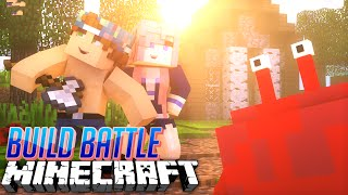 CRABS!? | TEAM BUILD BATTLE w/ LDSHADOWLADY | Minecraft