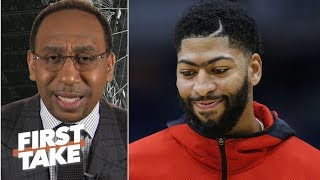 Magic Johnson can't risk losing out on Anthony Davis to the Clippers – Stephen A. | First Take