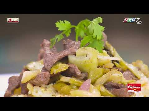 Cách chế biến món Cơm rang  dưa bò theo công thức của đầu bếp Vũ Dino | Khi Chàng Vào Bếp - Mùa 2