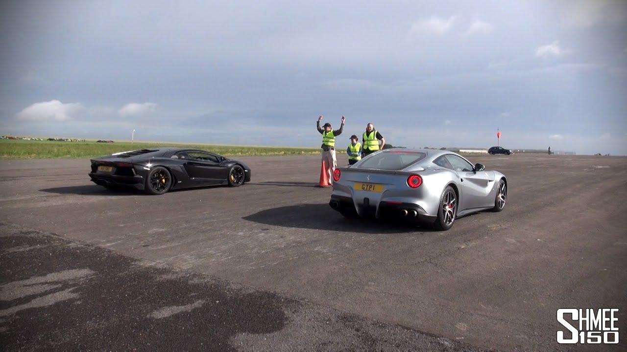 Lamborghini Aventador vs Ferrari F12 Berlinetta - Launch ...