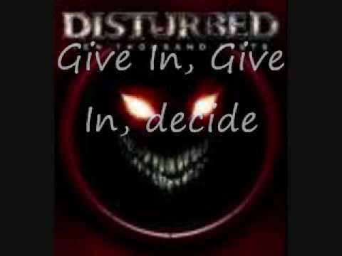 Disturbed meaning of life lyrics