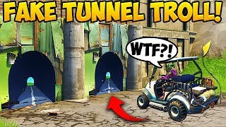 NEW FAKE TUNNEL TROLL! - Fortnite Funny Fails and WTF Moments! #266 (Daily Moments) - YouTube