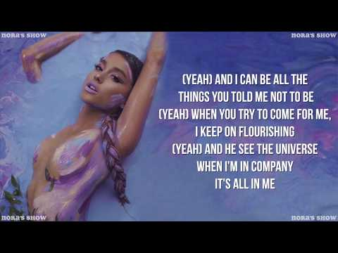Ariana Grande - God is a woman (Lyric Video)