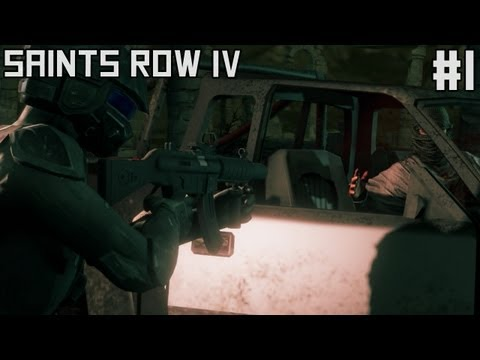 Saints Row 4 Gameplay Walkthrough Part 8 - Black Hole Gun ...