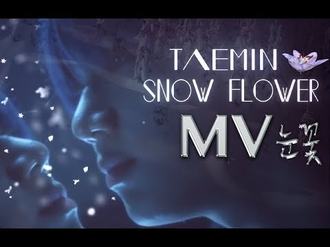 Taemin - Snow Flower MV &  English Lyrics (HD) '태민 눈꽃 가사'