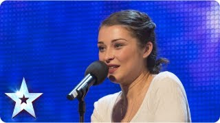 Alice Fredenham singing 'My Funny Valentine' - Week 1 Auditions | Britain's Got Talent 2013