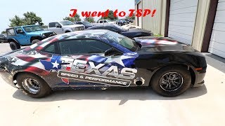 I went to Texas speed and performance, also the wife's new car! 2015 Camaro ss 1le Vlog7