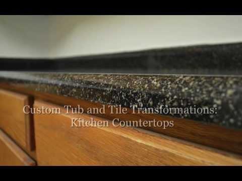 Countertop Refinishing Baltimore | Custom Tub and Tile
