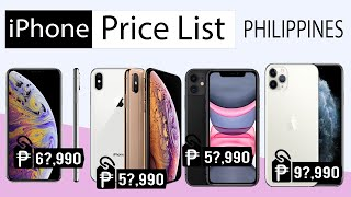 iPhone Price List in the Philippines