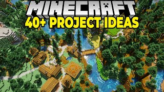 40+ New Minecraft Projects for your 1.16 Survival World
