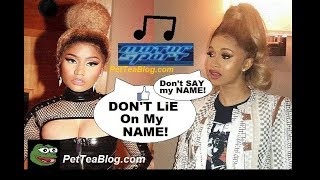 Nicki Minaj Expose Cardi b for leaking her Motorsport Verse today that she Changed 🎤👀