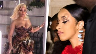 Nicki Minaj and Cardi B Brawl at New York Fashion Week Event