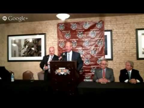 John Anderson Press Conference Live Stream