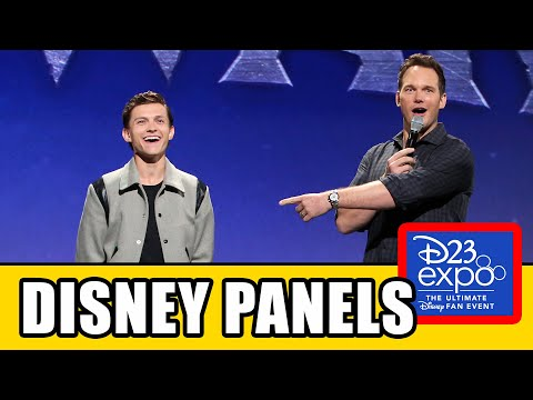 D23 All Panels - Marvel, Star Wars, Pixar & Disney Animation Highlights