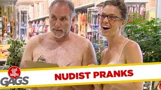 Nudist Pranks - Best of Just For Laughs Gags