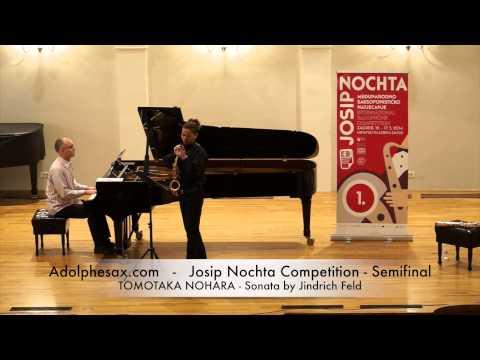 JOSIP NOCHTA COMPETITION TOMOTAKA NOHARA Sonata by Jindrich Feld