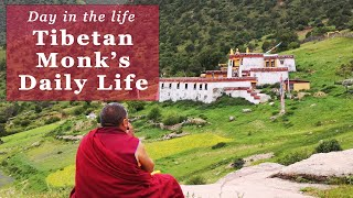 Tibetan Monk: A Day in the Life of a Tibetan Buddhist Monk
