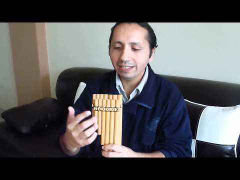 Como tocar la Zampoña  - Leccion 1