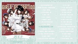 ♡ 2009 K-Pop Girl Groups | PLAYLIST ♡
