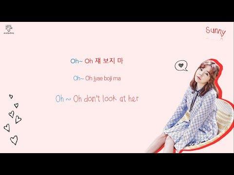 HENRY LAU 헨리 & SUNNY 써니 - U & I 쟤 보지 마 Color-Coded-Lyrics Han l Rom l Eng 가사 by xoxobuttons