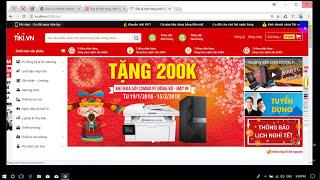 Hướng dẫn thiết kế và cài đặt website kinh doanh Laptop và PC