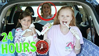 24 HOUR OVERNIGHT in CAR CHALLENGE with BABY!!! 👶⏰