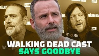 The Walking Dead Cast Says Goodbye to Andrew Lincoln