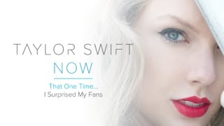 Taylor Swift NOW Ep. 1 - A Hug From Taylor Swift