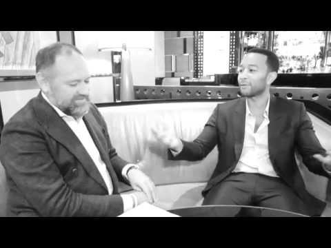 Interview with John Legend by BIllionaire Magazine Chairman David Leppan Part 1 HD