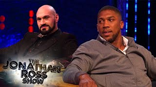 Anthony Joshua Won't Trash Talk Tyson Fury | The Jonathan Ross Show