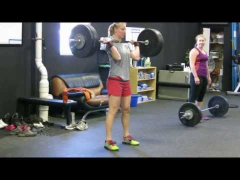 Nicci: 143lbs Clean and Jerk