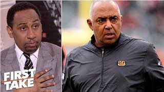 'Marvin Lewis should be fired before the top of the hour!' - Stephen A. l First Take