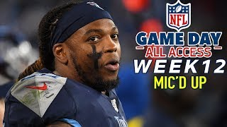 """NFL Week 12 Mic'd Up, """"Filet his a**!"""" 