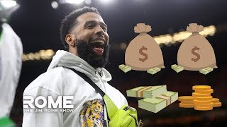 """""""I Have No Problem With Odell Handing Out Cash After The Championship Game"""" 