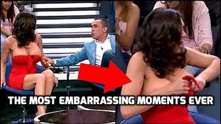 MOST EMBARRASSING MOMENTS CAUGHT ON CAMERA ! Top Embarrassing Moments