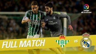 Full Match Real Betis vs Real Madrid LaLiga 2015/2016