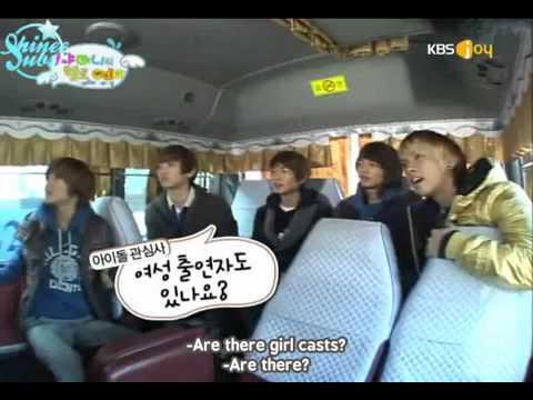 [ENG SUB] SHINee Hello Baby Episode 1 (1/5) 100120