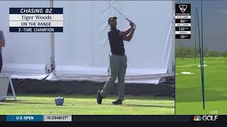 Tiger Woods - Irons on the Practice Range (2019 US Open)