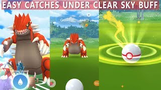 New Groudon Raid in Pokemon Go! How to Critical Catch Groudon?