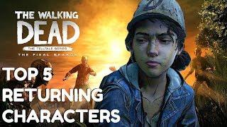 "The Walking Dead:Season 4: ""The Final Season"" Returning Characters Top 5 List  - Twd s4"