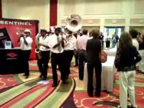 Band Marching ISS New Orleans
