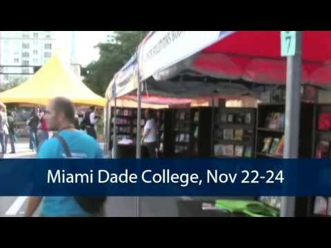 Promote Your Book at the 2013 Miami Book Fair International!