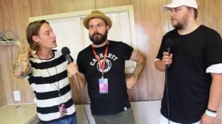 Silverstein Interview Warped Tour 2017 Charlotte NC  SoundlinkTV