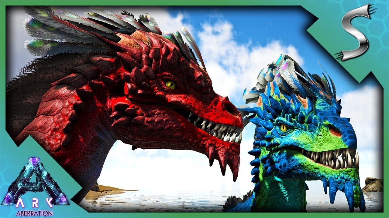 ARK ROCK DRAKE MUTATIONS! BABY DRAKES! BREEDING FOR MUTATED