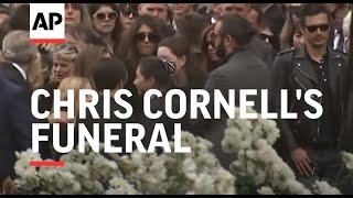 Brad Pitt, Christian Bale, Pharrell, Josh Brolin, more attend Chris Cornell's funeral