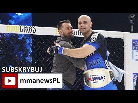 PLMMA 73: Łukasz Klinger nowym mistrzem wagi półciężkiej (+wywiad)